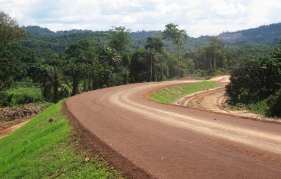 Road in Congo