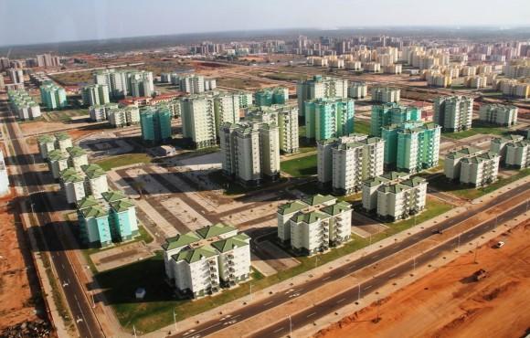 Partial View of Kilamba